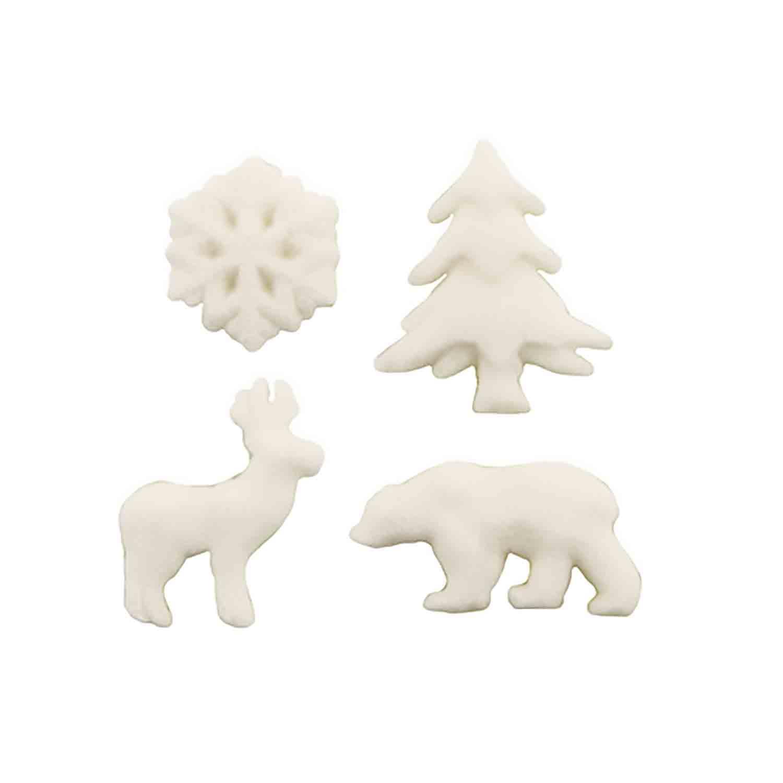 Dec-Ons® Molded Sugar - Artic Animal Assortment