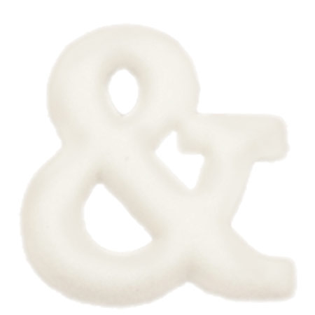 Dec-Ons® Molded Sugar - Ampersand