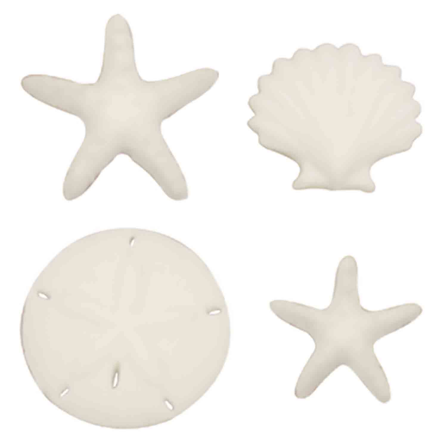 Dec-Ons® Molded Sugar - Beach Comber Assortment
