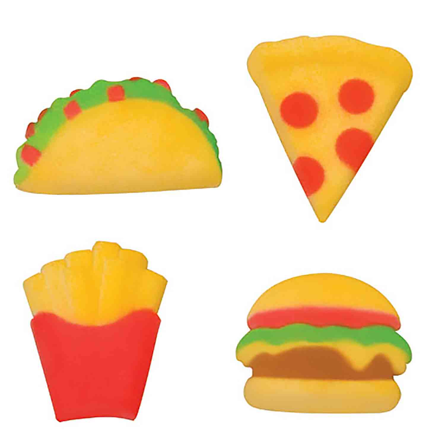 Dec-Ons® Molded Sugar - Fast Food Assortment