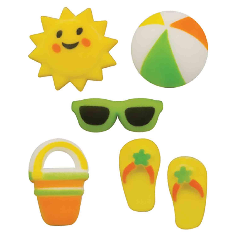 Dec-Ons® Molded Sugar - Summer Fun Assortment