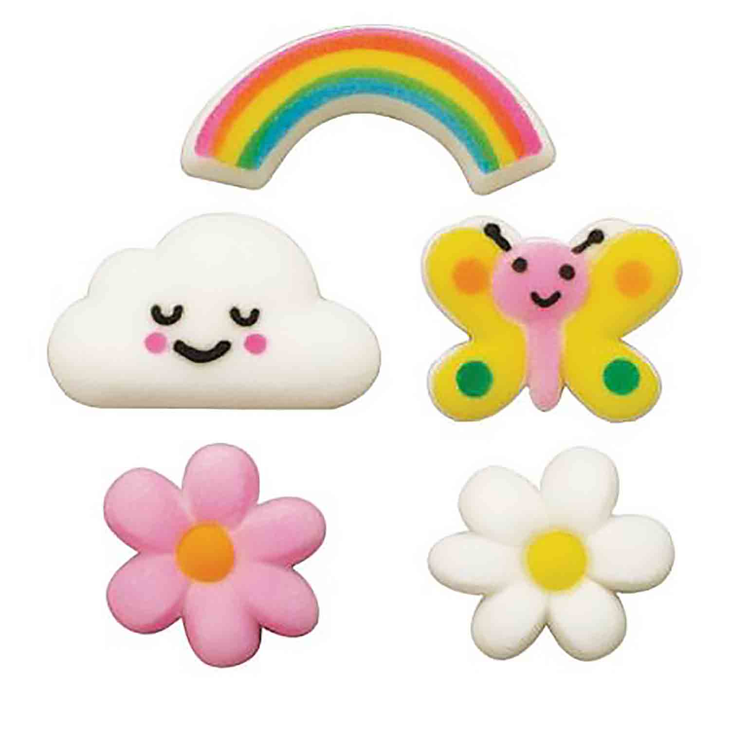 Dec-Ons® Molded Sugar - Spring Showers Assortment