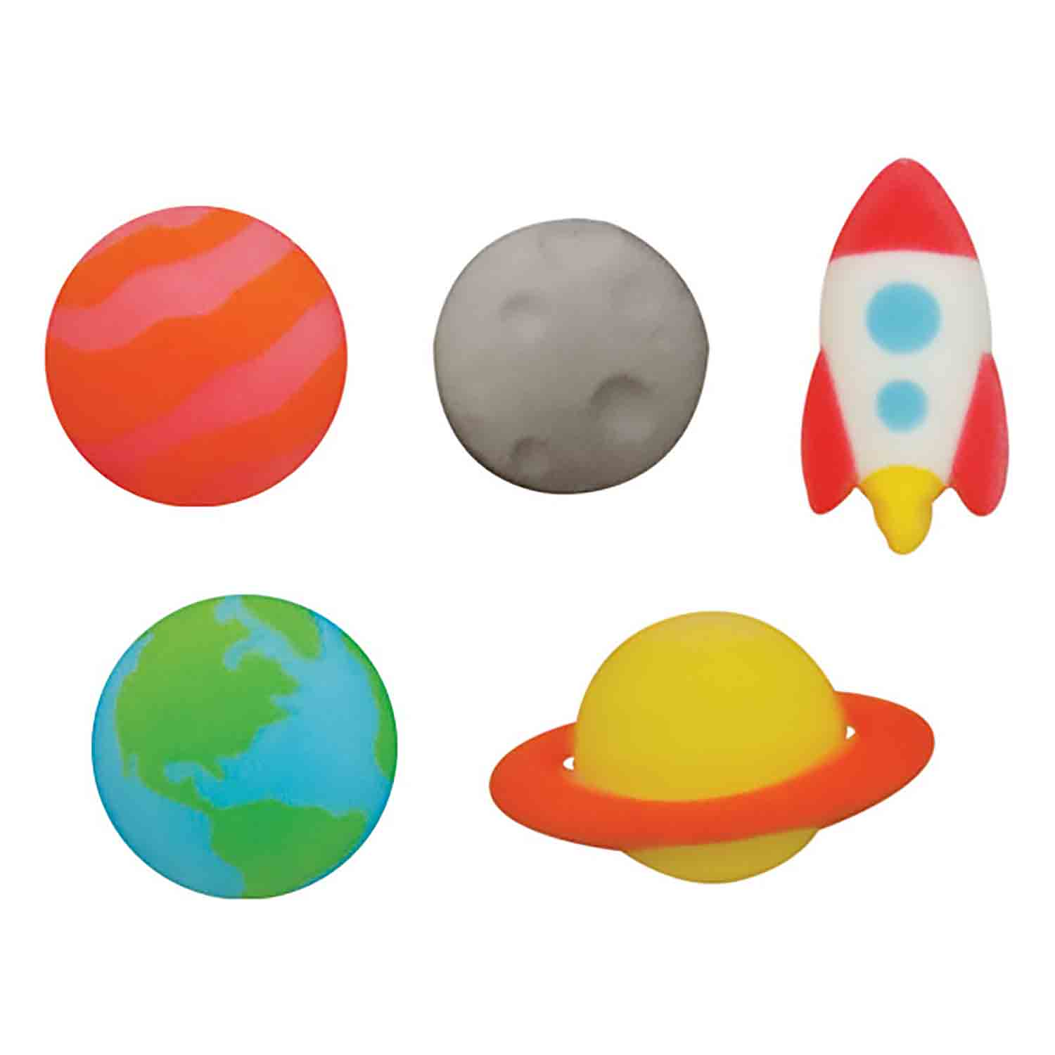 Dec-Ons® Molded Sugar - Outer Space Assortment