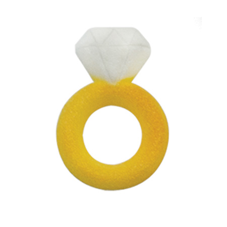Dec-Ons® Molded Sugar - Gold Rings