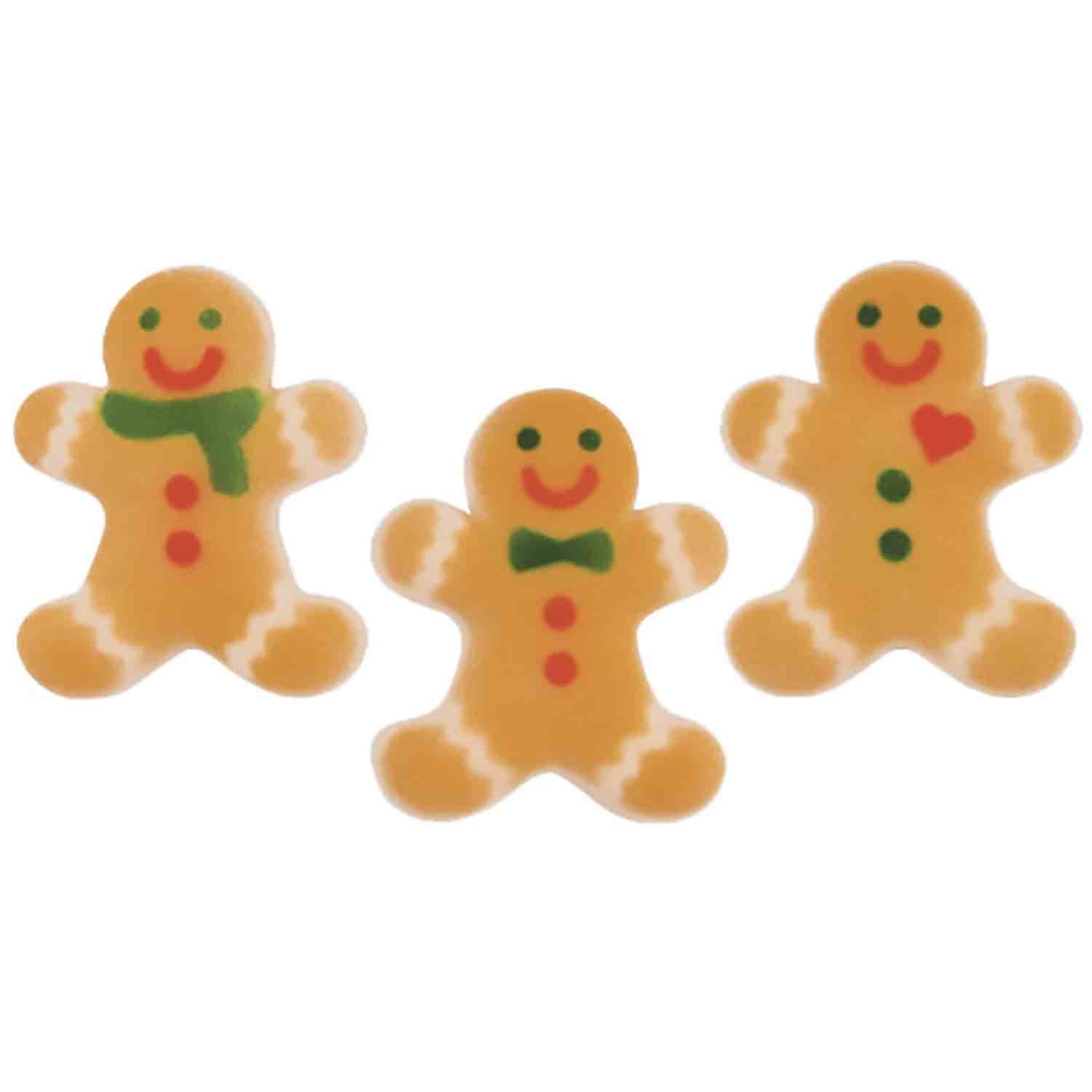 Dec-Ons® Molded Sugar - Gingerbread Man