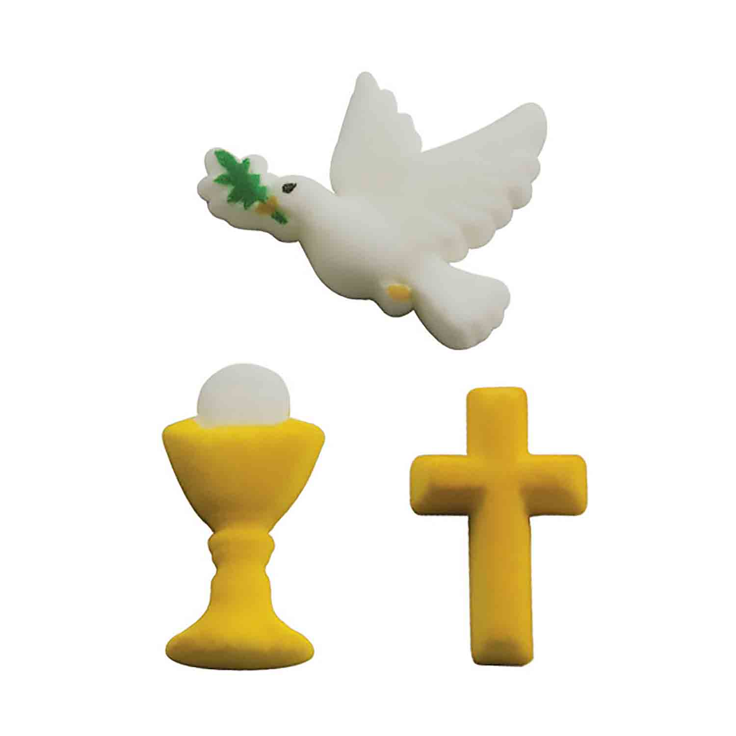 Dec-Ons® Molded Sugar - Faith Assortment