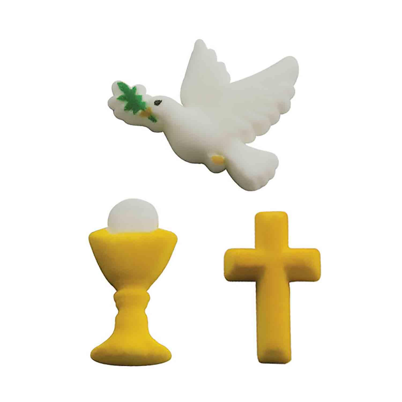Dec-Ons® Molded Sugar - Faith Assortment