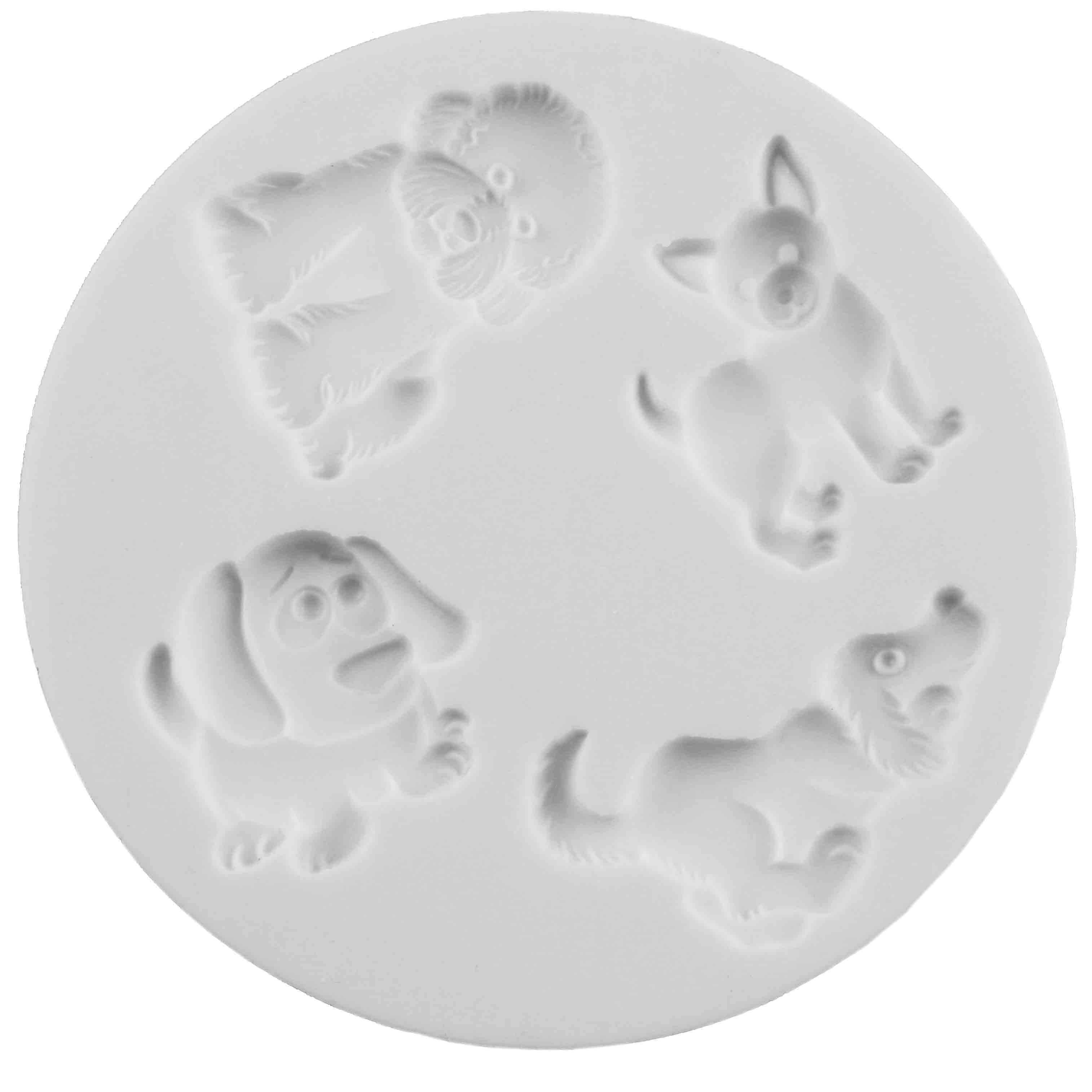 Dogs Silicone Mold