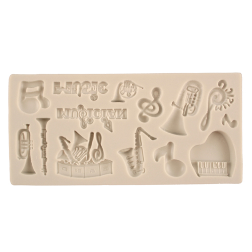 Music Silicone Mold