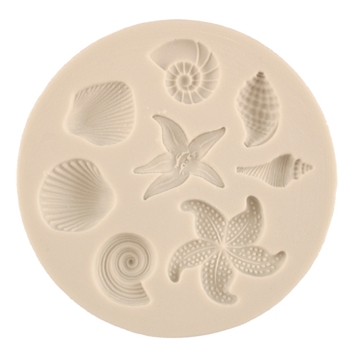 Shells and Starfish Silicone Mold