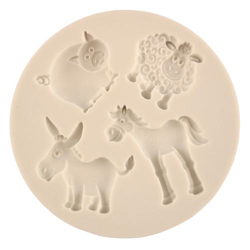 Farm Animals Silicone Mold