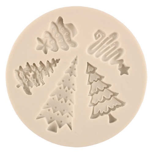 Christmas Trees Silicone Mold
