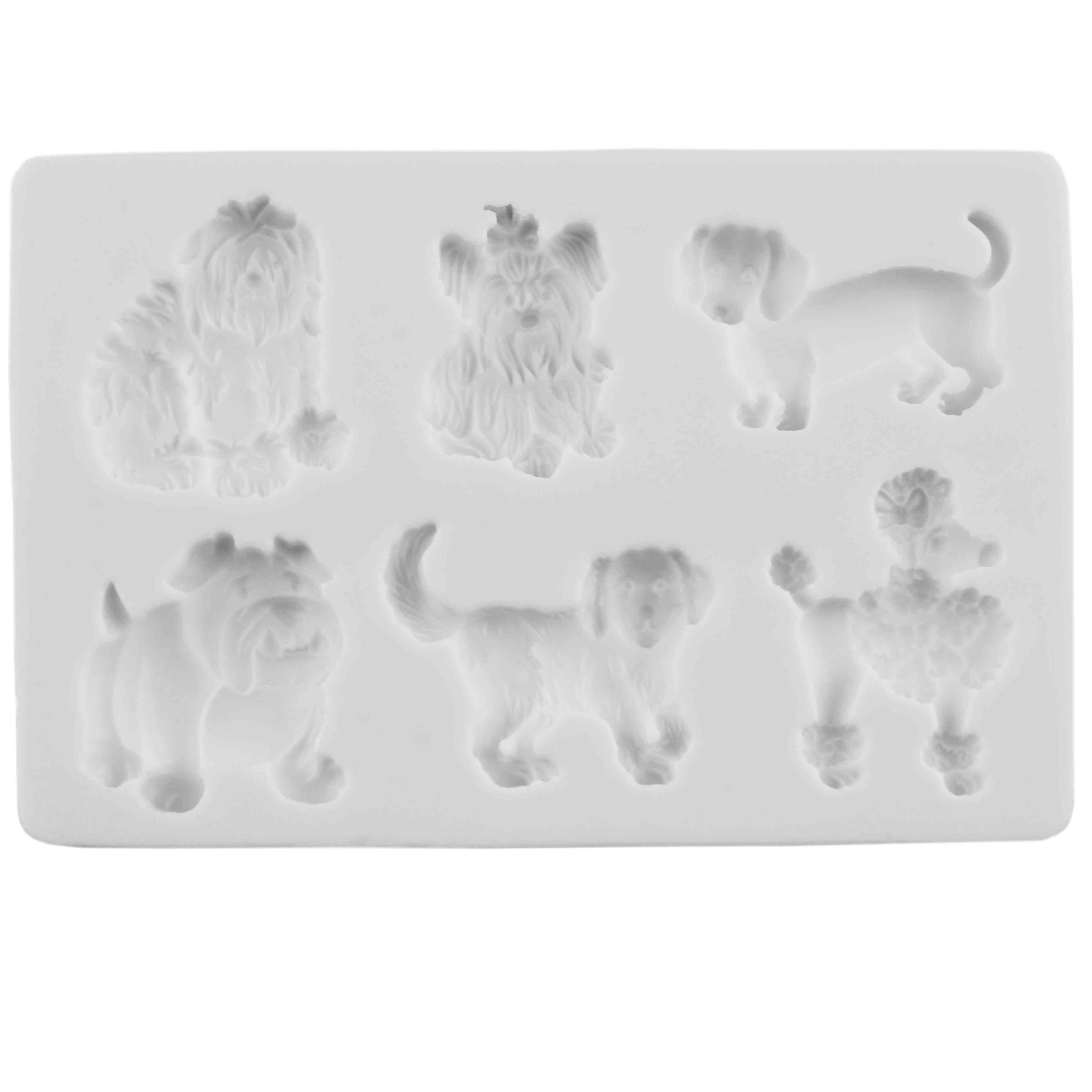 Dogs #2 Silicone Mold