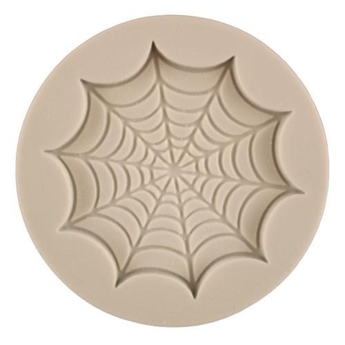 Cobweb Cupcake Top Silicone Mold