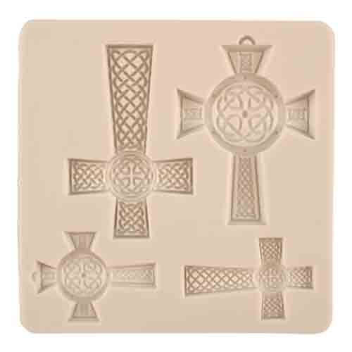 Celtic Crosses Silicone Mold