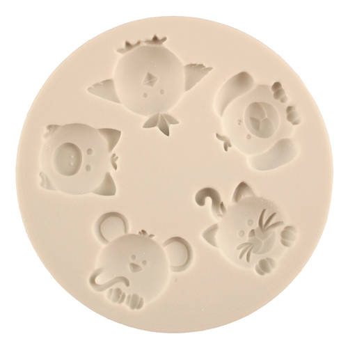Cute Animals Silicone Mold