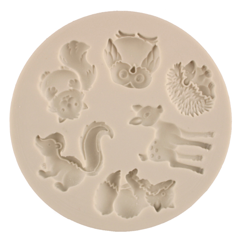 Forest Animals Silicone Mold