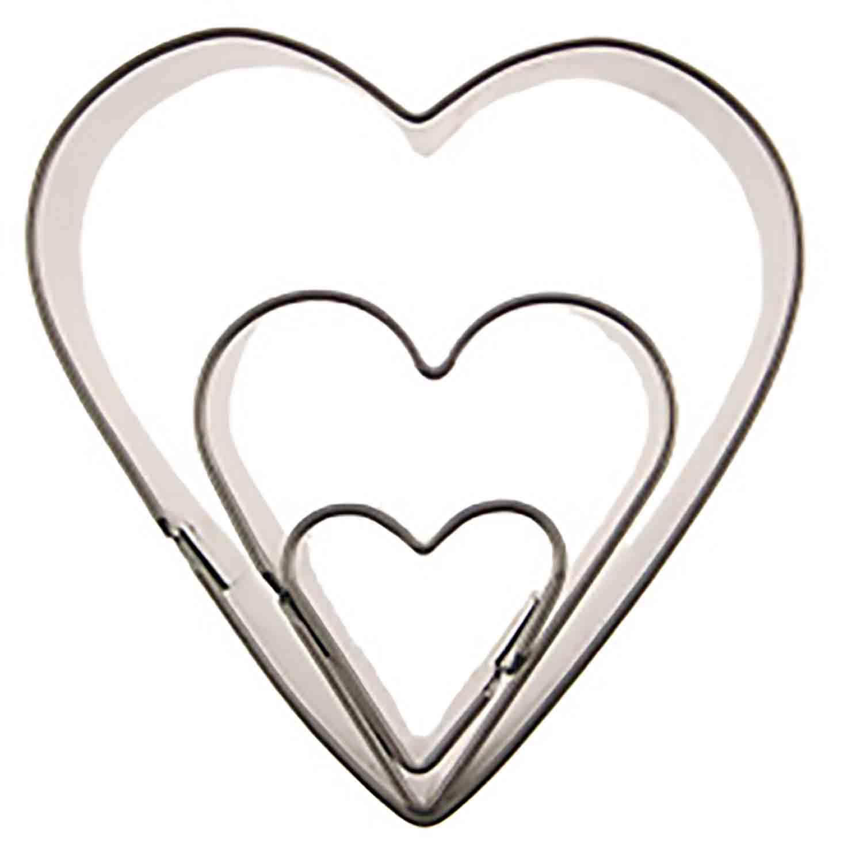 Makin's Cutter Set- Heart