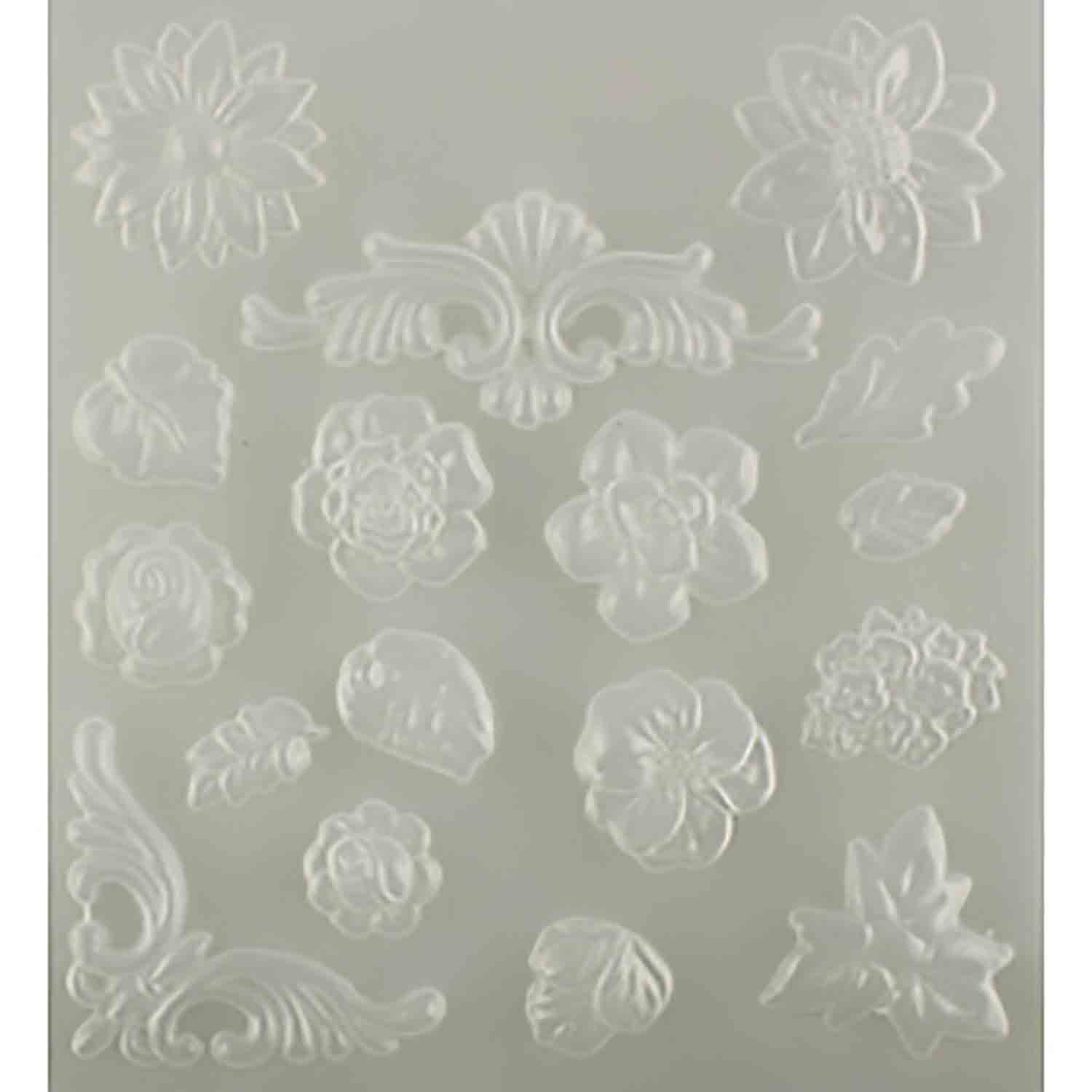 Makin's Push Mold- Floral
