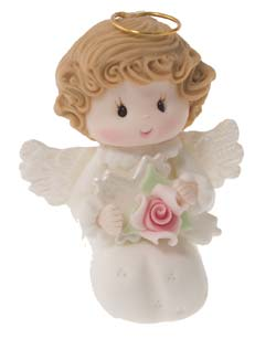 Christening Angel Praying- Girl Cake Topper