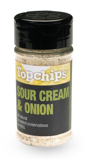 TopChips Seasoning - Sour Cream & Onion