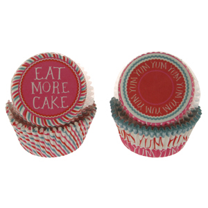 Eat More Cake Standard Baking Cups