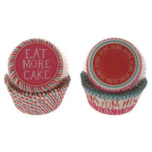 Eat More Cake Standard Baking Cups