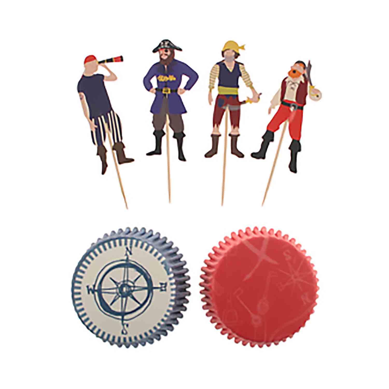 Ahoy Pirate Cupcake Kit