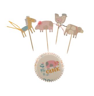 Little Farm Cupcake Kit