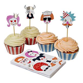 Make Funny Faces Cupcake Kit