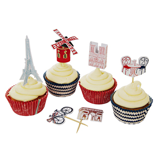 Petit Paris Cupcake Kit