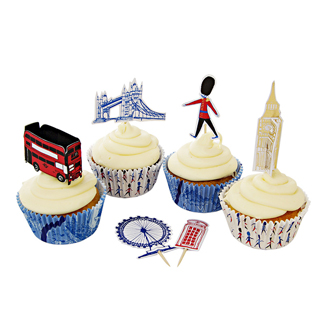 Old London Cupcake Kit