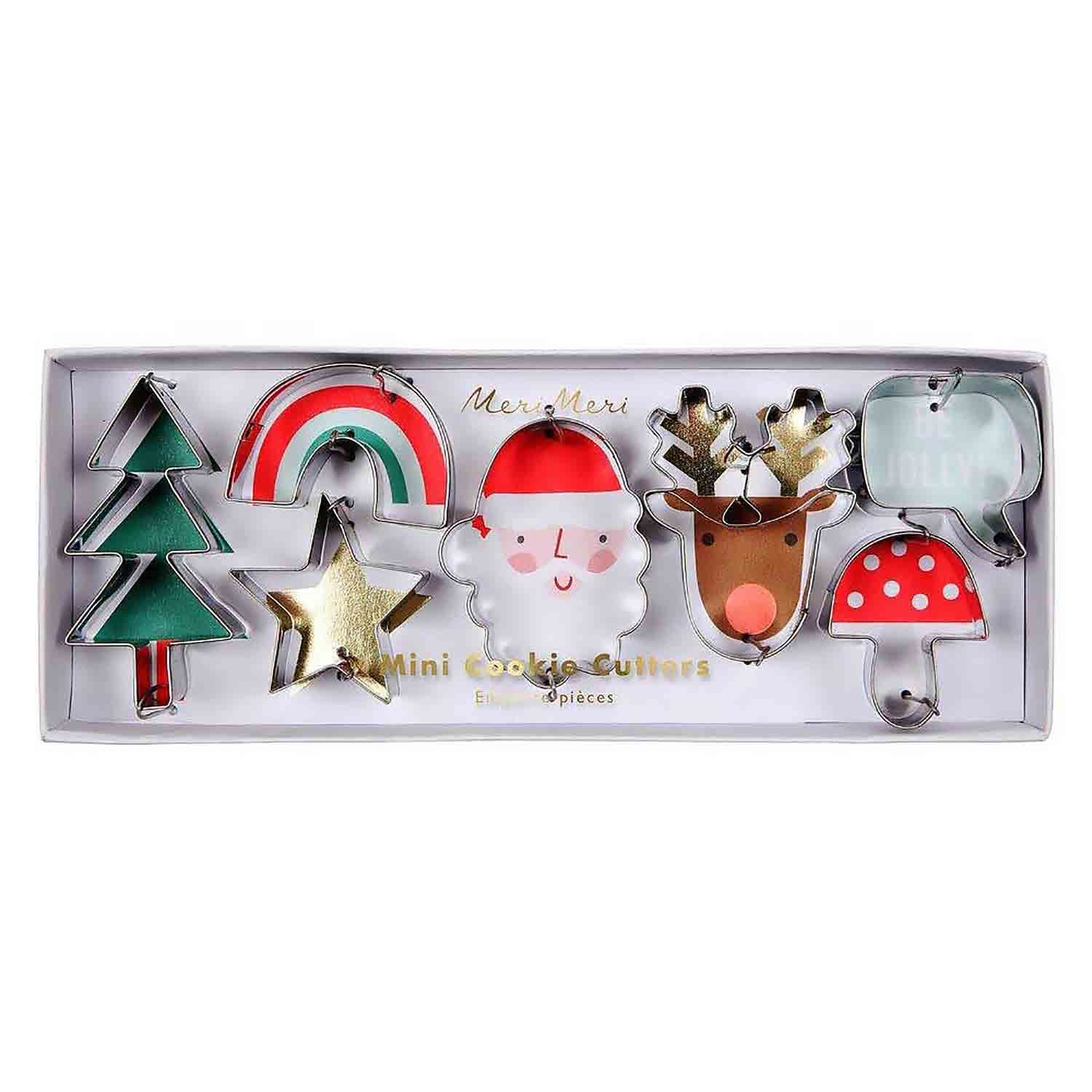 Festive Icon Mini Cookie Cutter Set