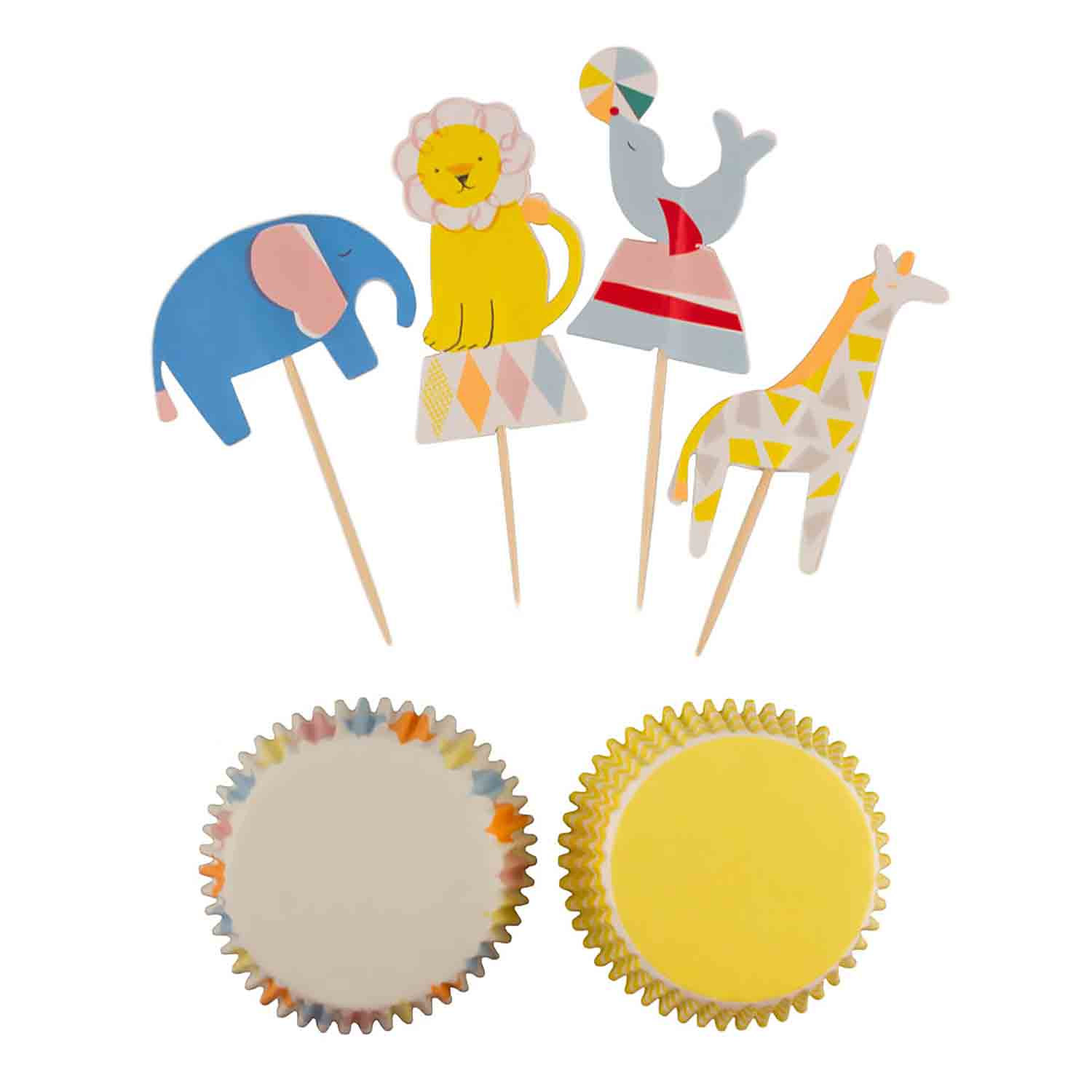 Silly Circus Cupcake Kit