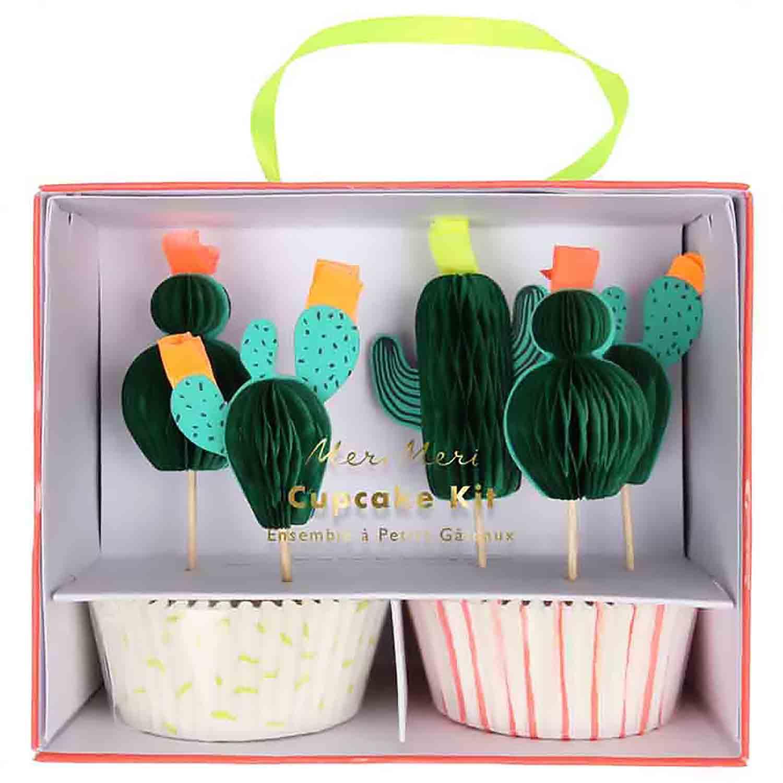 Cacti Cupcake Kit
