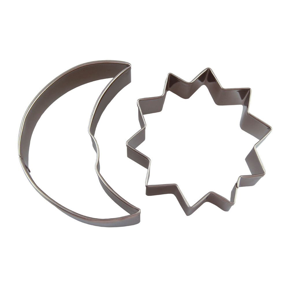 Sun and Moon Cookie Cutter Set