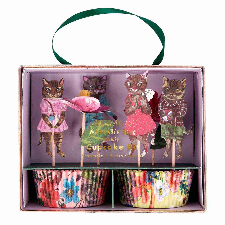 Flora Cat Cupcake Kit