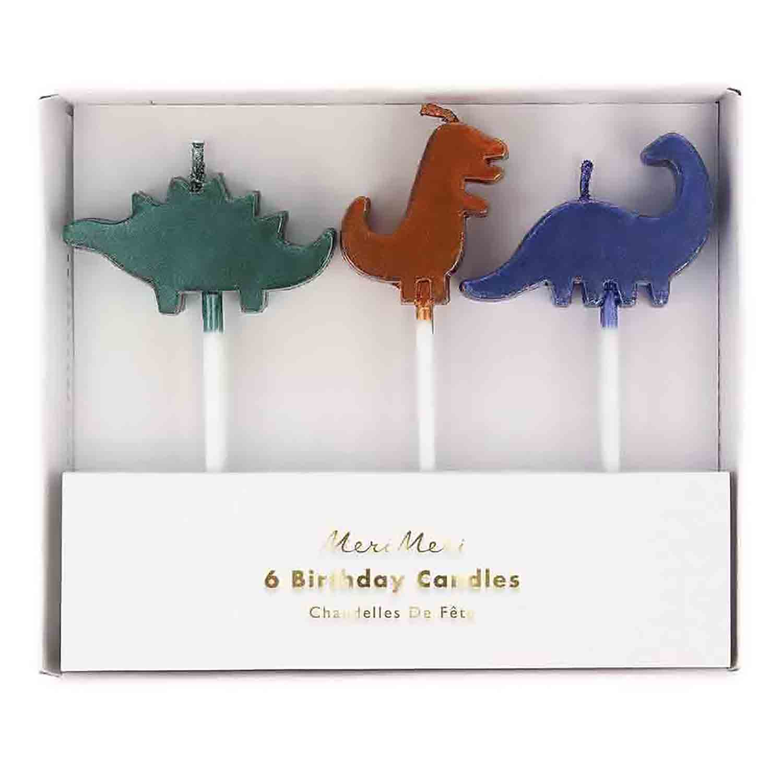 Dinosaur Kingdom Candles Set