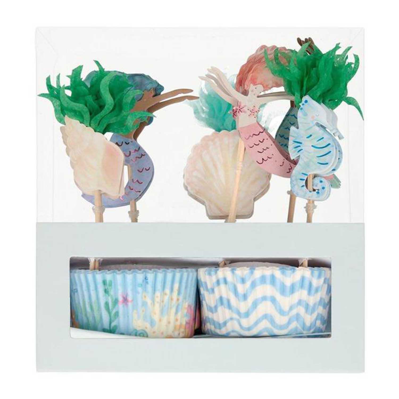 Mermaid Cupcake Kit