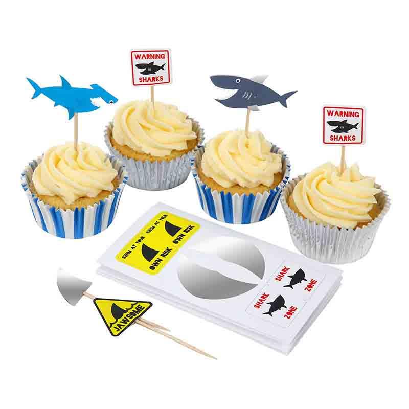 Shark Cupcake Kit