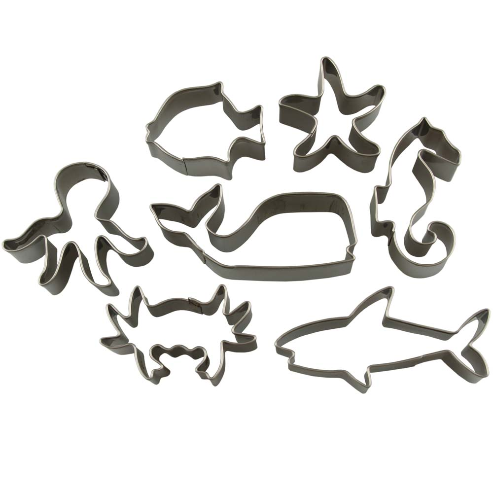 Sea Animals Mini Cookie Cutter Set
