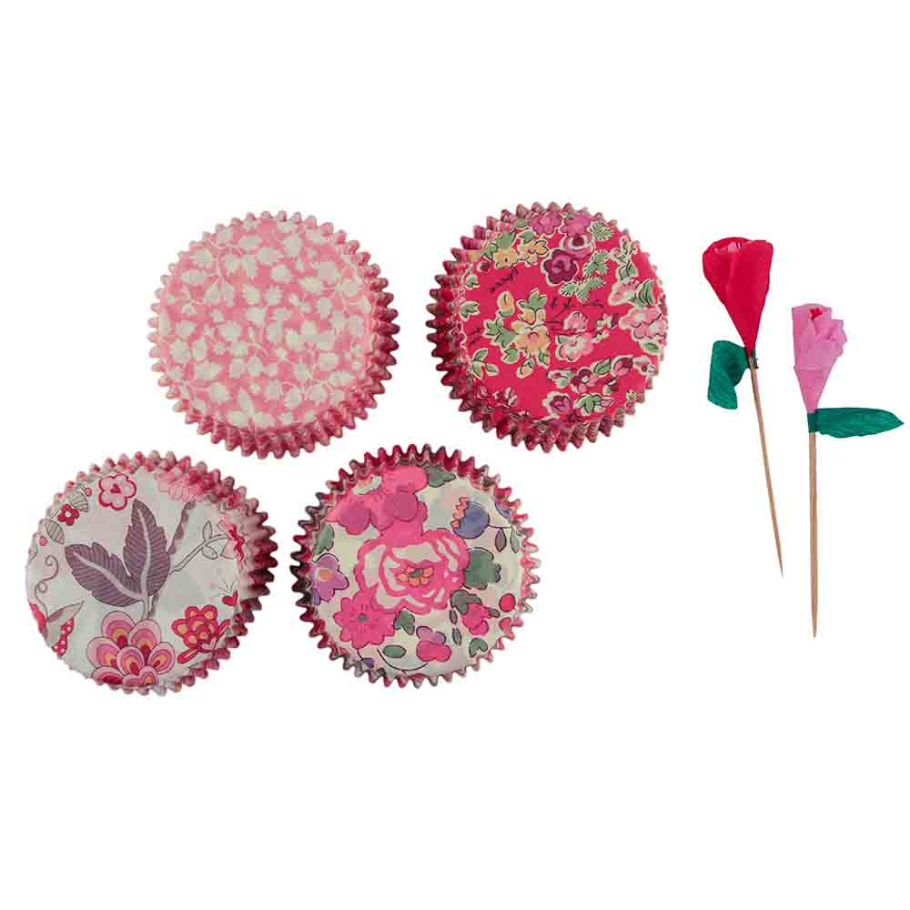Rose Liberty Cupcake Kit