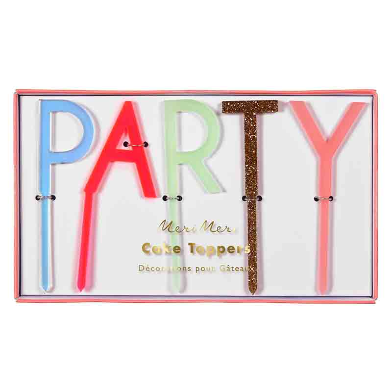 PARTY Cake Pick Set