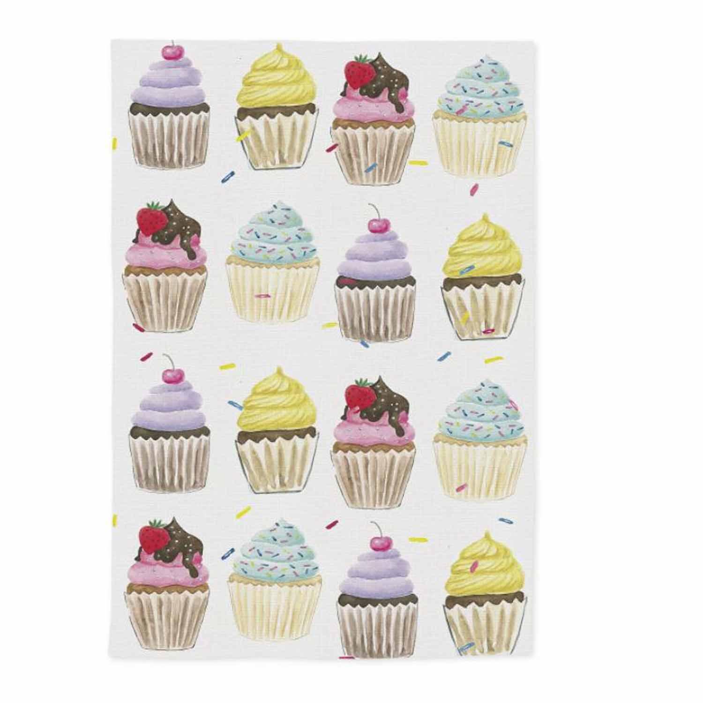 Cupcake Dish Towel