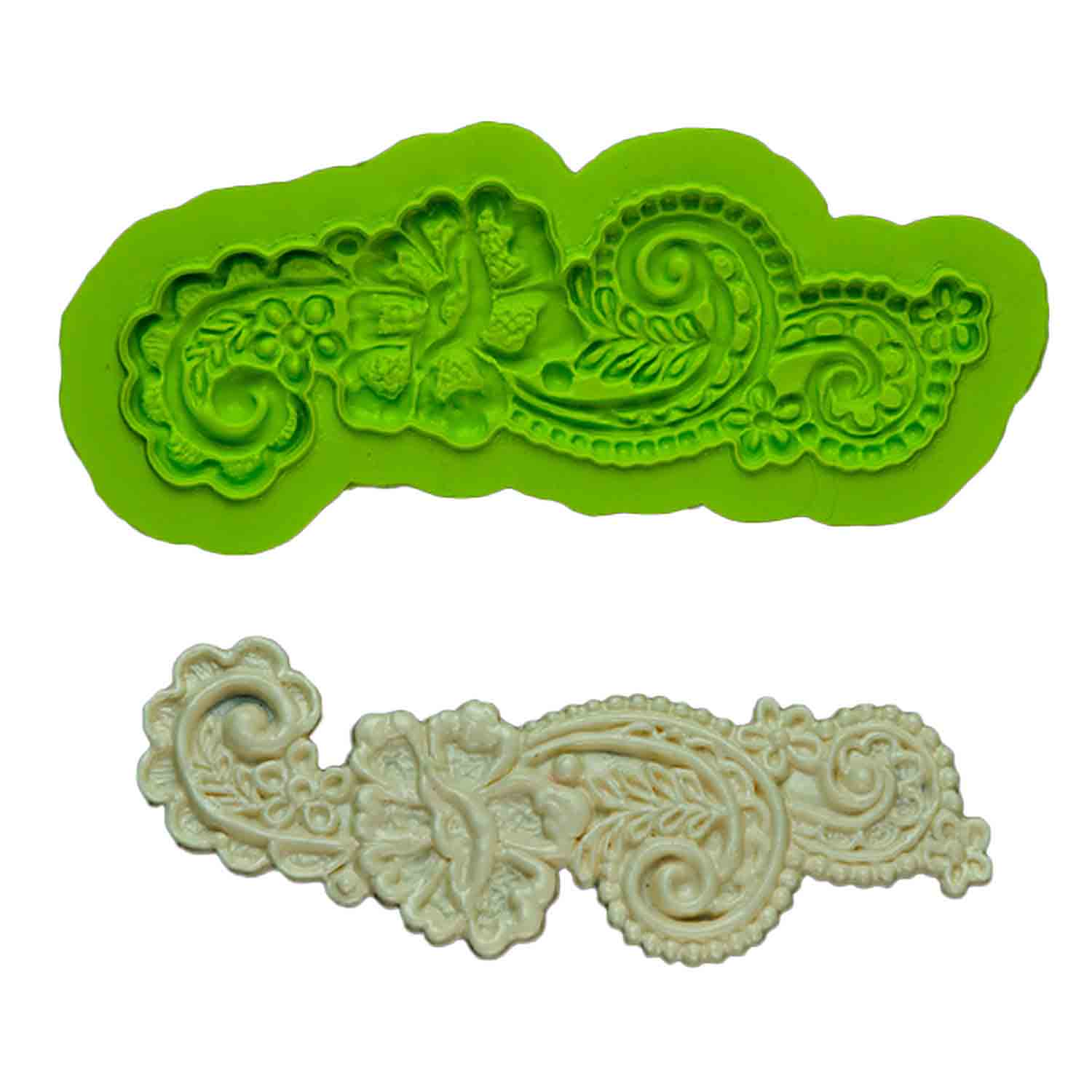 Rose Mary Lace Silicone Mold