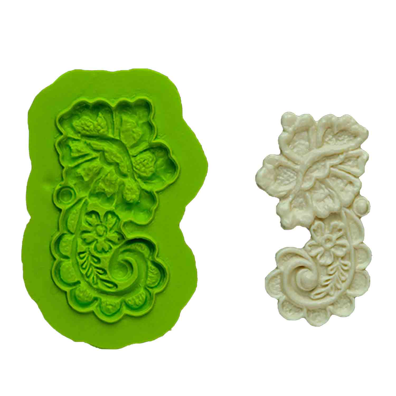 Rose Lace Silicone Mold