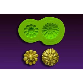 Glimmer Brooch Silicone Mold
