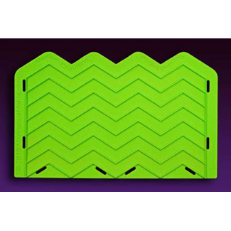 Medium Chevron Silicone Onlay Mold