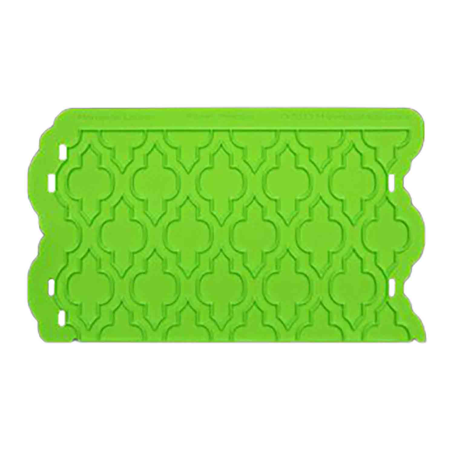 Moroccan Lattice Silicone Onlay Mold