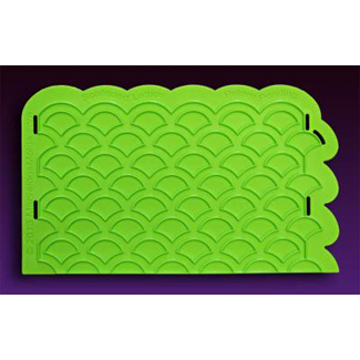 Scalloped Lattice Silicone Onlay Mold